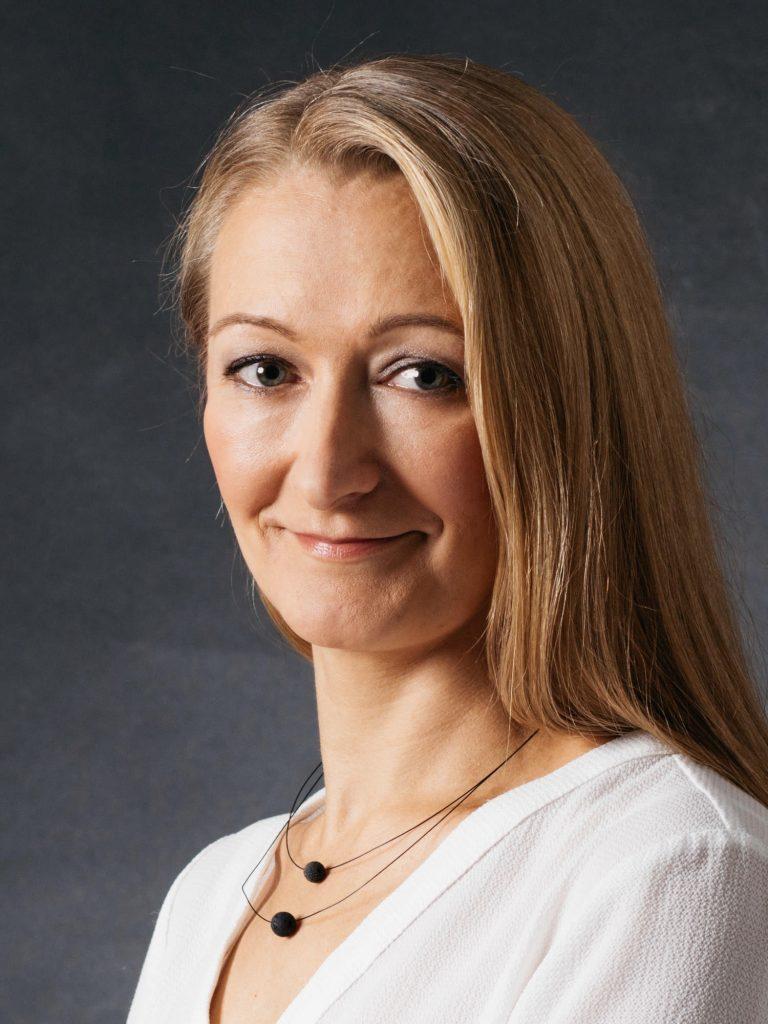Kuvassa Kati Hägg